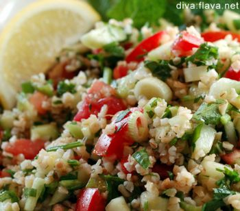 Tabbouleh with White Beans